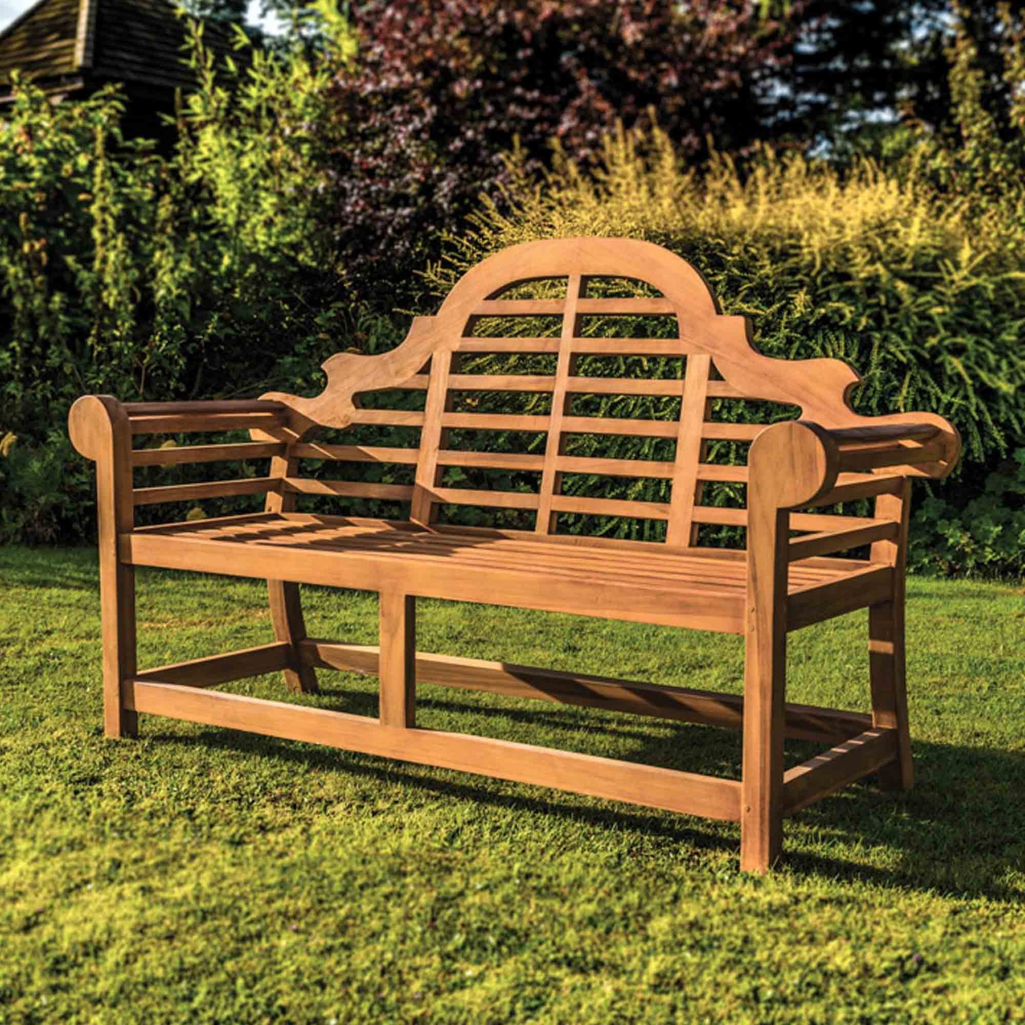 Curved Teak Bench Furniture From Delta House And Home Uk