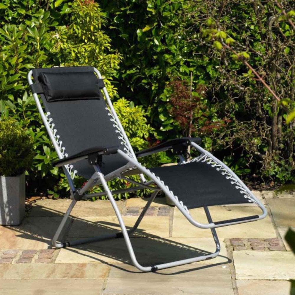 6bddcda34b53 Gravity Garden Reclining Sun Chair Lounger - Furniture from Delta House and  Home UK