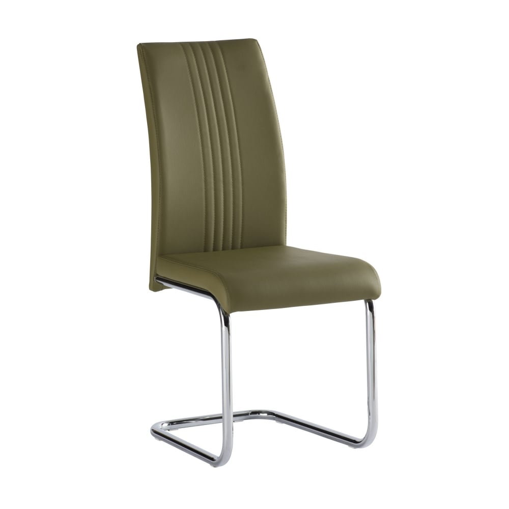 Monaco olive green dining chair furniture from delta house and home uk