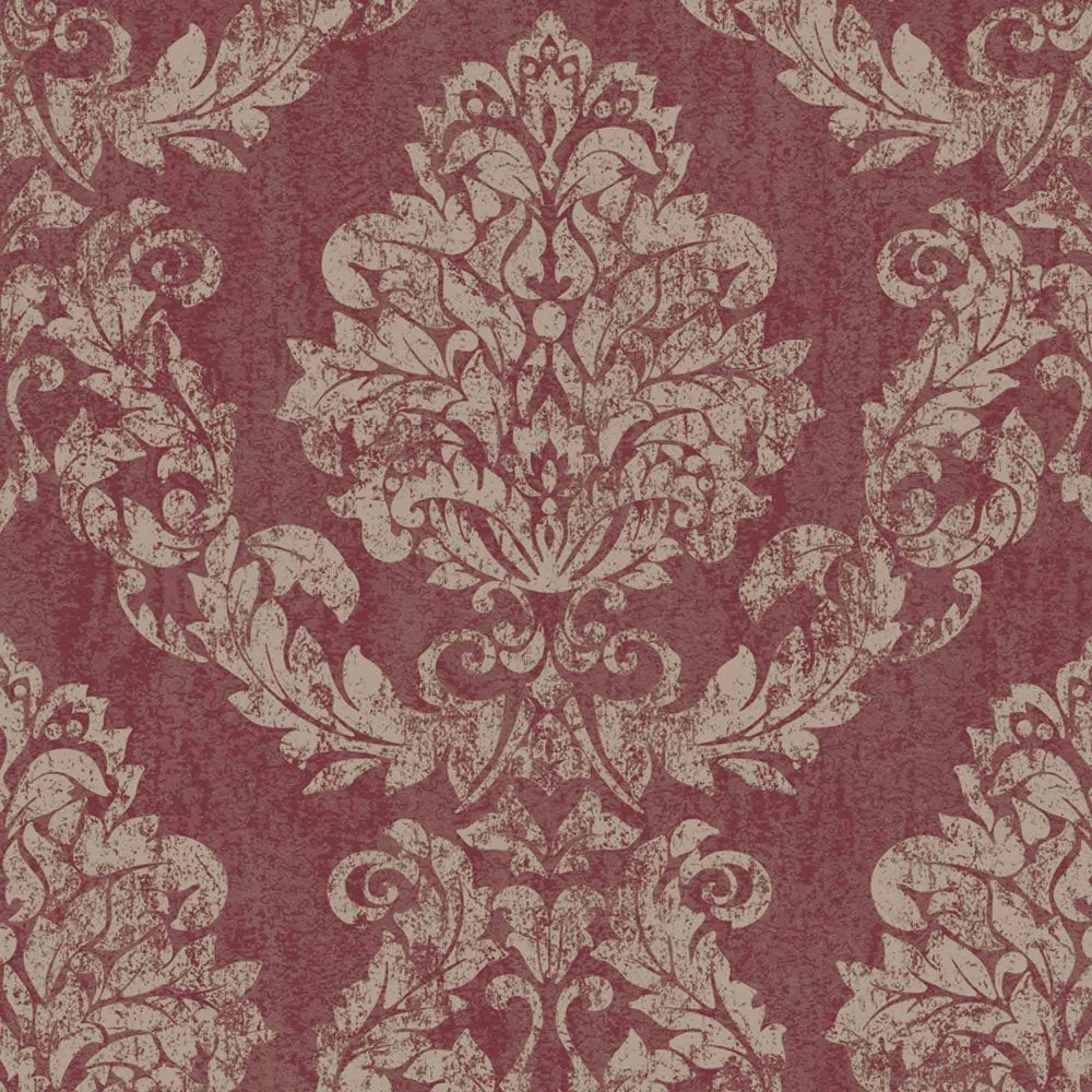 Opus Giorgio Red Gold Wallpaper