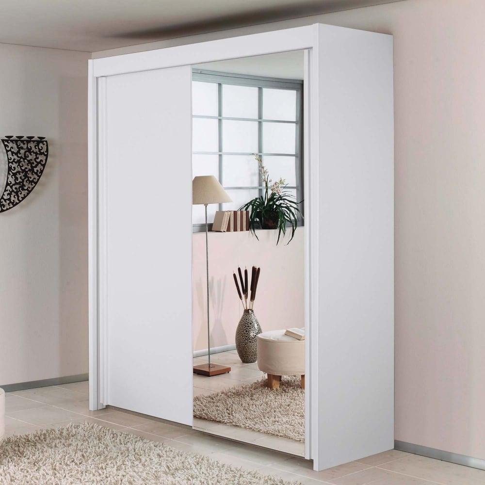 Rauch Imperial 2 Door 181cm Wide Sliding Wardrobe In Alpine White